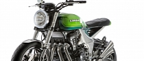 Kawasaki Z1000 40th Anniversary Concept Is Smoking Hot