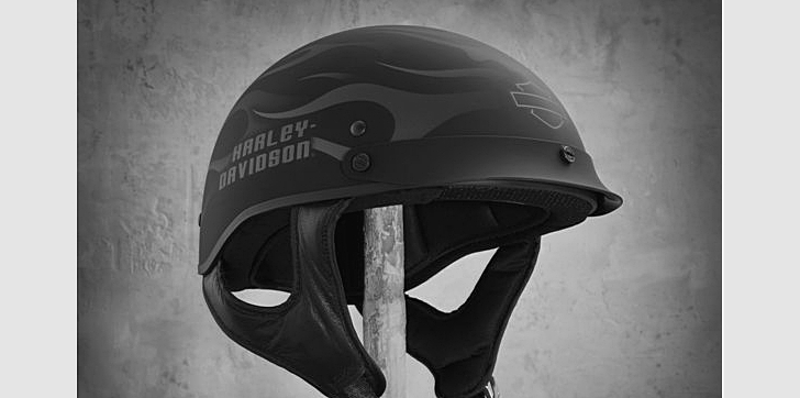 Certain H-D half helmets are recalled. Image for illustrative purpose only.
