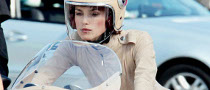 Keira Knightley Rides a Classic Ducati for Chanel