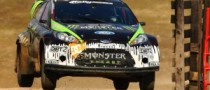 Ken Block Prepares WRC Debut with Home Win