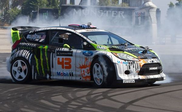 Ken Block Unveils His Ford Fiesta RS WRC HFV - autoevolution