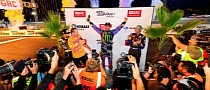 Ken Block Wins First Global Rallycross Race