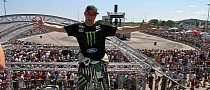 Ken Block's Gymkhana Reaches 25,000 Fans in Austria [Video]