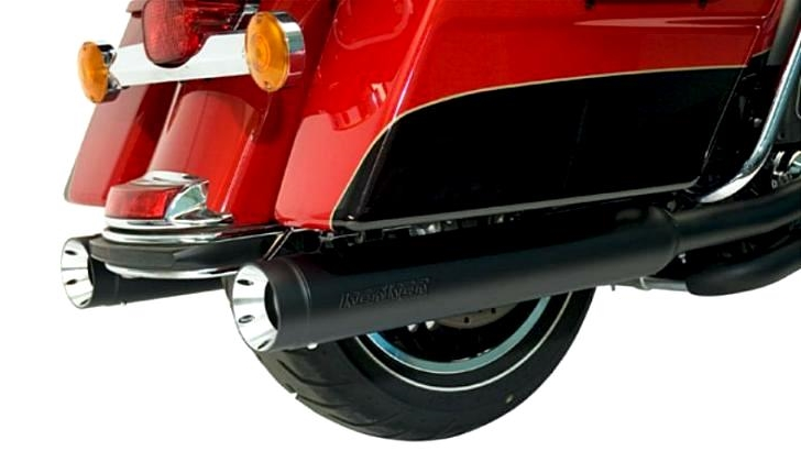 "Kerker Stout 4"" Exhausts for Harley-Davidson Baggers and Trikes"