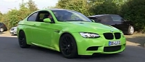 Kermit The Frog Green BMW M3 [Video]