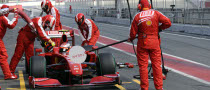 KERS Failure Stops Ferrari's Test Session in Barcelona