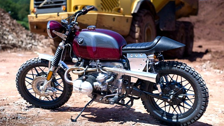Kevil's Siren BMW R100 Street Scrambler [Photo Gallery]