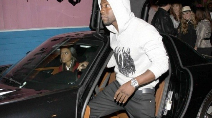 Kevin Hart in Black Mercedes SLS AMG