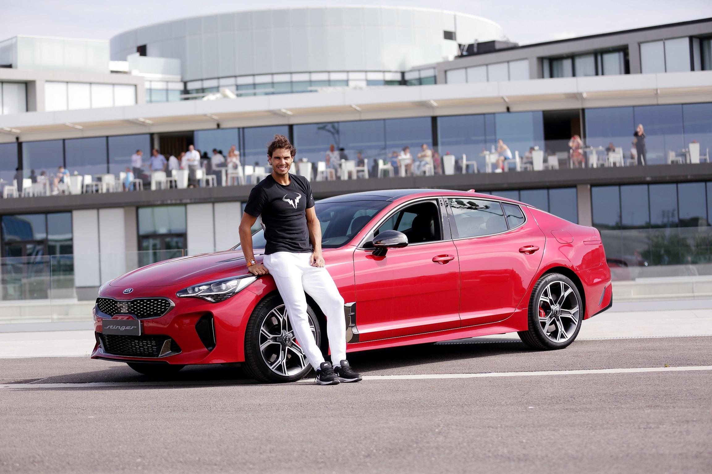 Kia Awards Rafael Nadal A Stinger Gt As His New Company Car