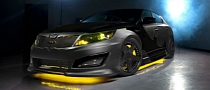 Kia Builds Batman-Themed Optima Sedan to Battle Hunger