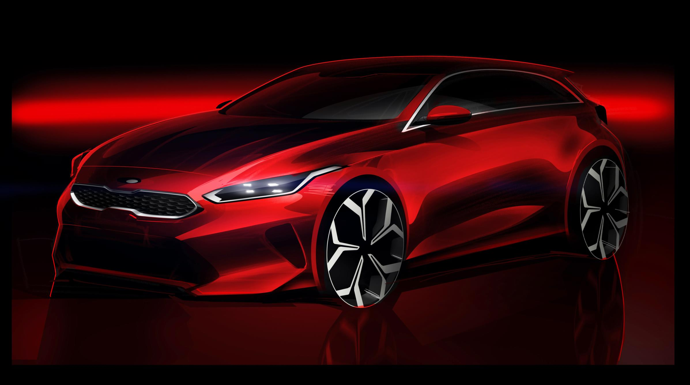2018 kia cee 39 d to debut in geneva changes name to ceed. Black Bedroom Furniture Sets. Home Design Ideas