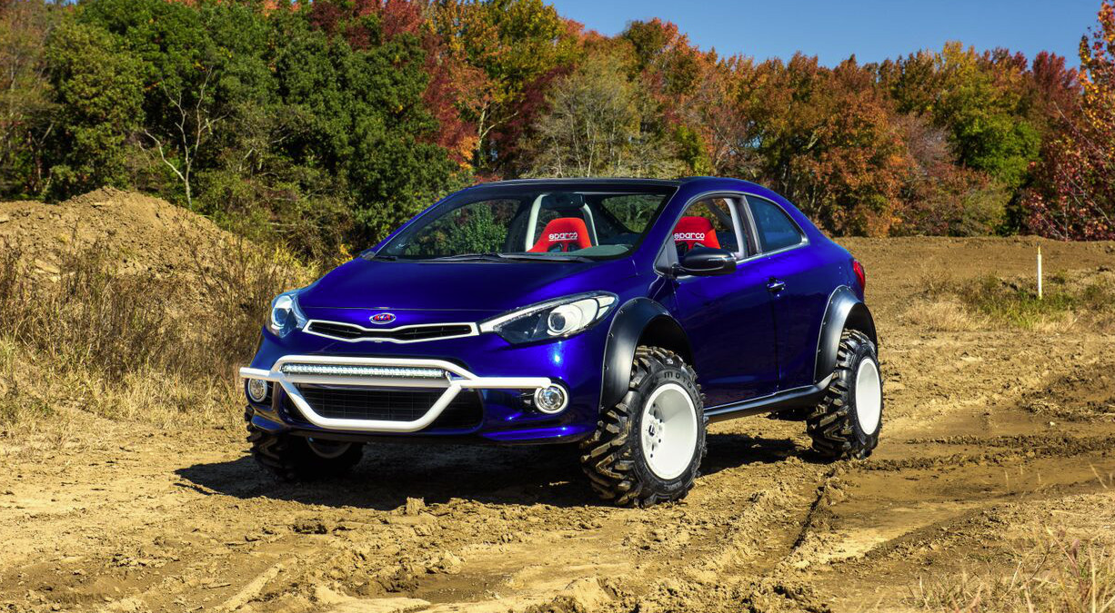 Local Motors Rally Fighter >> Kia Forte Koup Mud Bogger Concept Looks like Something We'd Buy - autoevolution