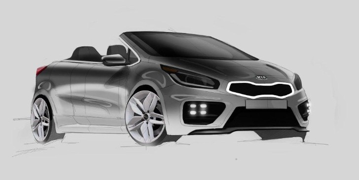 Kia Hot pro_cee'd GT Convertible Rendered