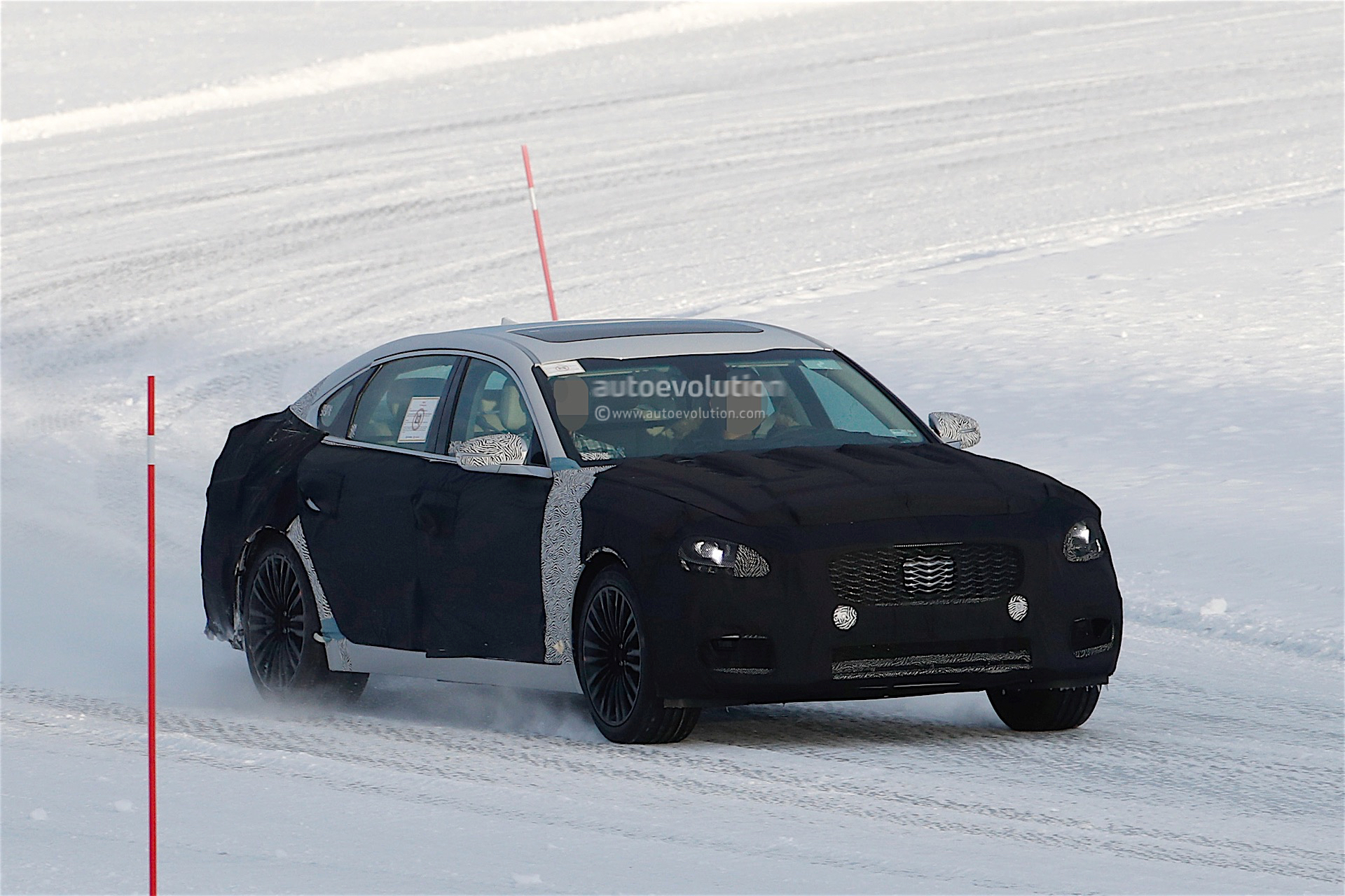 2018 Kia K9 Spied For The First Time Debuts At The Arctic Circle