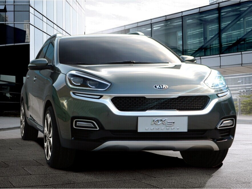 Kia Kx3 Concept Previews Subcompact Crossover Autoevolution