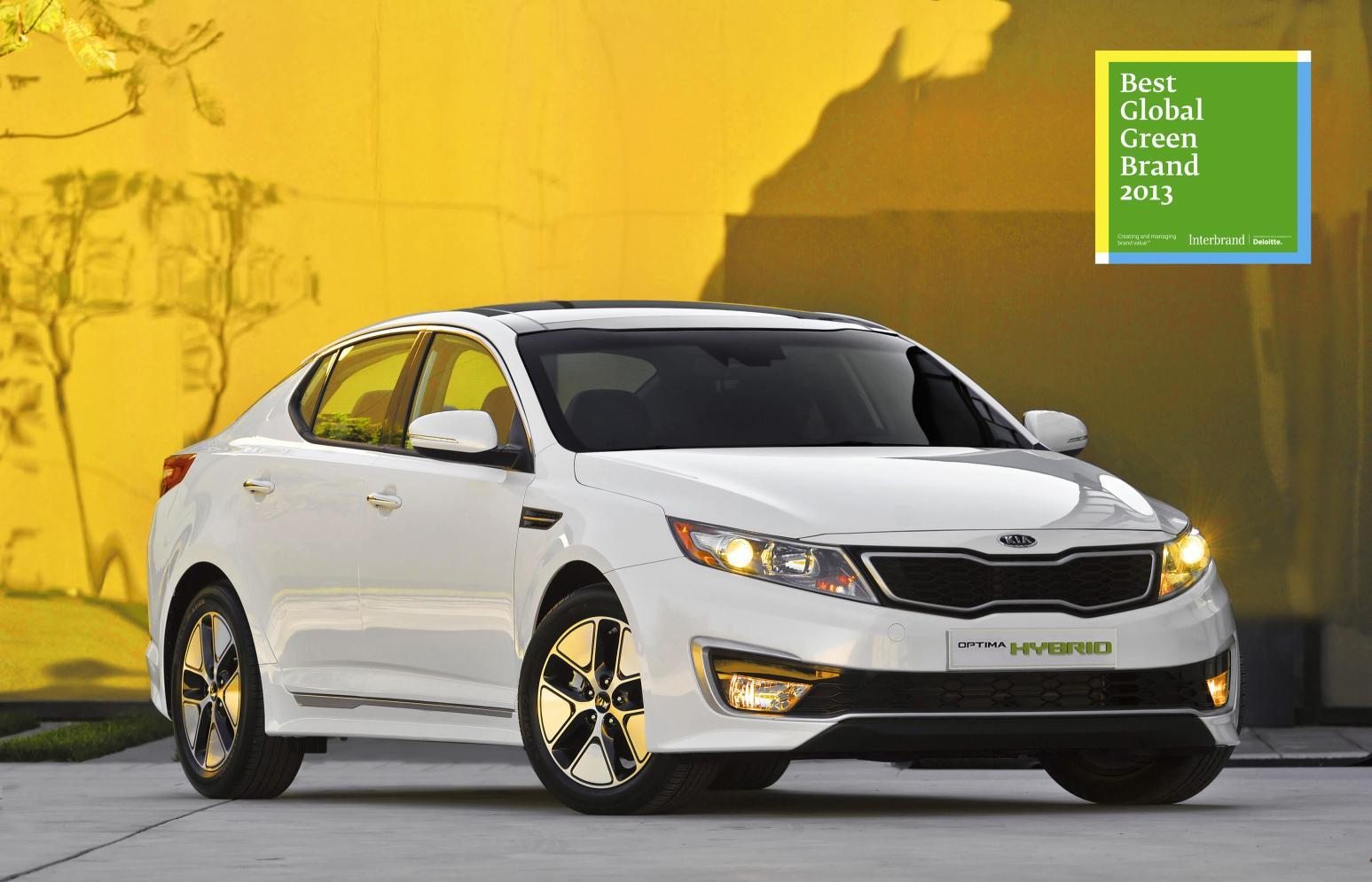Kia Makes The Clean Cut On Top 50 Green Brand List
