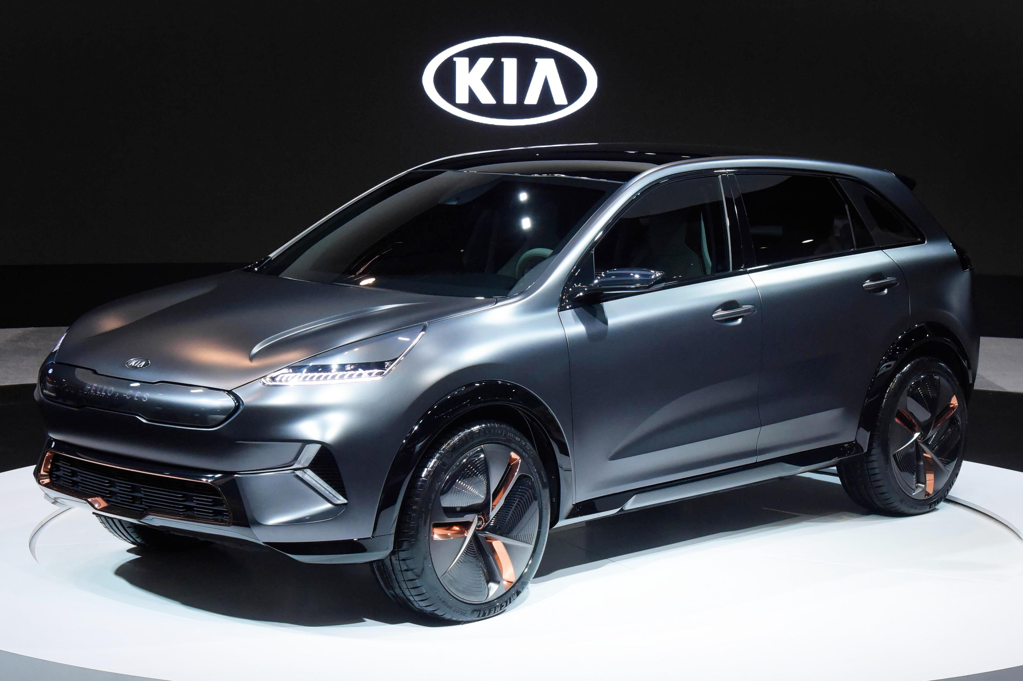 Kia Niro EV Concept Unveiled at CES in Las Vegas