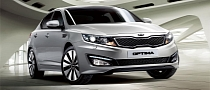 Kia Optima Becomes Car Hire Vehicle for Europcar