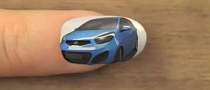 Kia Picanto Nail Art Animation Released [Video]