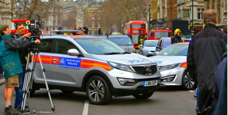 Kia Police Cars Used in James Bond Skyfall