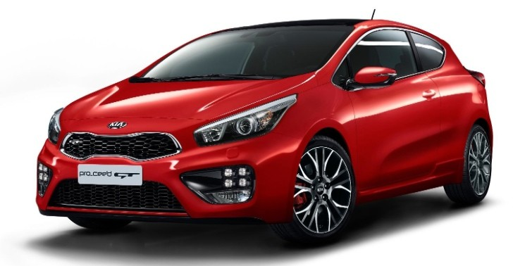 Kia Pro_Cee'd GT Official Specs Revealed [Photo Gallery]