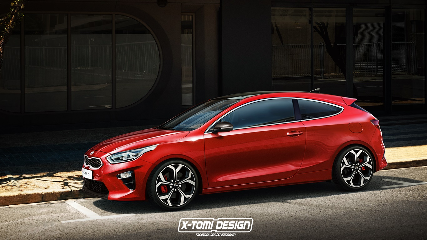 kia proceed rendered as a slightly more exciting south korean hatchback autoevolution. Black Bedroom Furniture Sets. Home Design Ideas