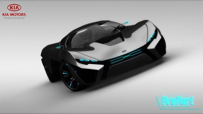 kia proport the futuristic power to surprise autoevolution. Black Bedroom Furniture Sets. Home Design Ideas
