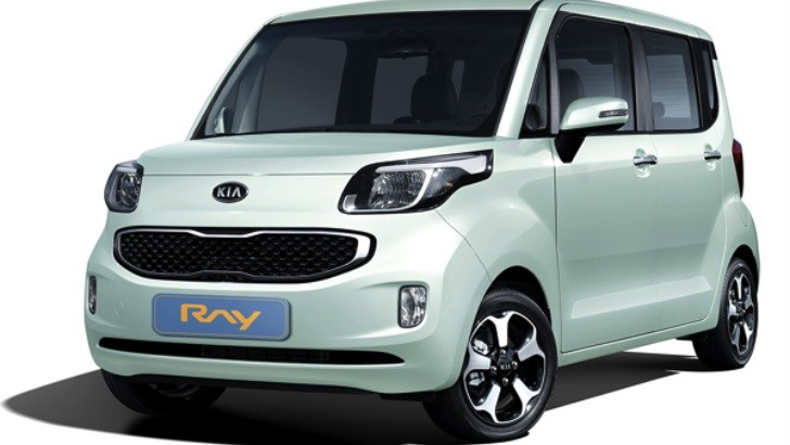 Kia Ray Revealed, to Be Sold Exclusively in Korea