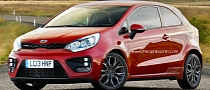 Kia Rio GT Rendered