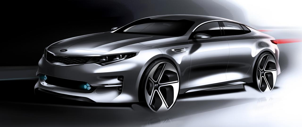 New York Auto Show Kia Optima 2016