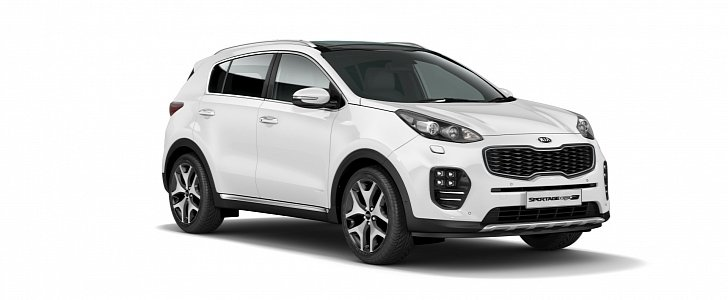kia uk updates sportage crossover for 2017 model year autoevolution. Black Bedroom Furniture Sets. Home Design Ideas