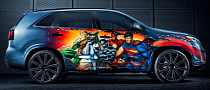 Kia Unveils Justice League SUV for San Diego Comic-Con