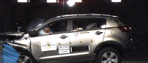 Kia's Sportage and Venga Models Awarded 5 Stars by Euro NCAP