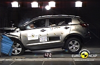 Kia Sportage and Venga awarded 5-star safety rating by Euro NCAP