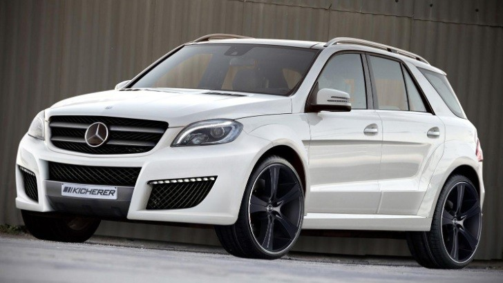 Kicherer Gives 2012 Mercedes Benz M-Class a New Look