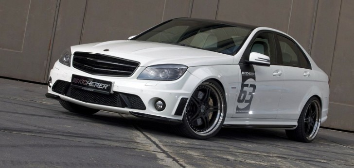 Kicherer Mercedes C63 AMG White Edition [Photo Gallery]