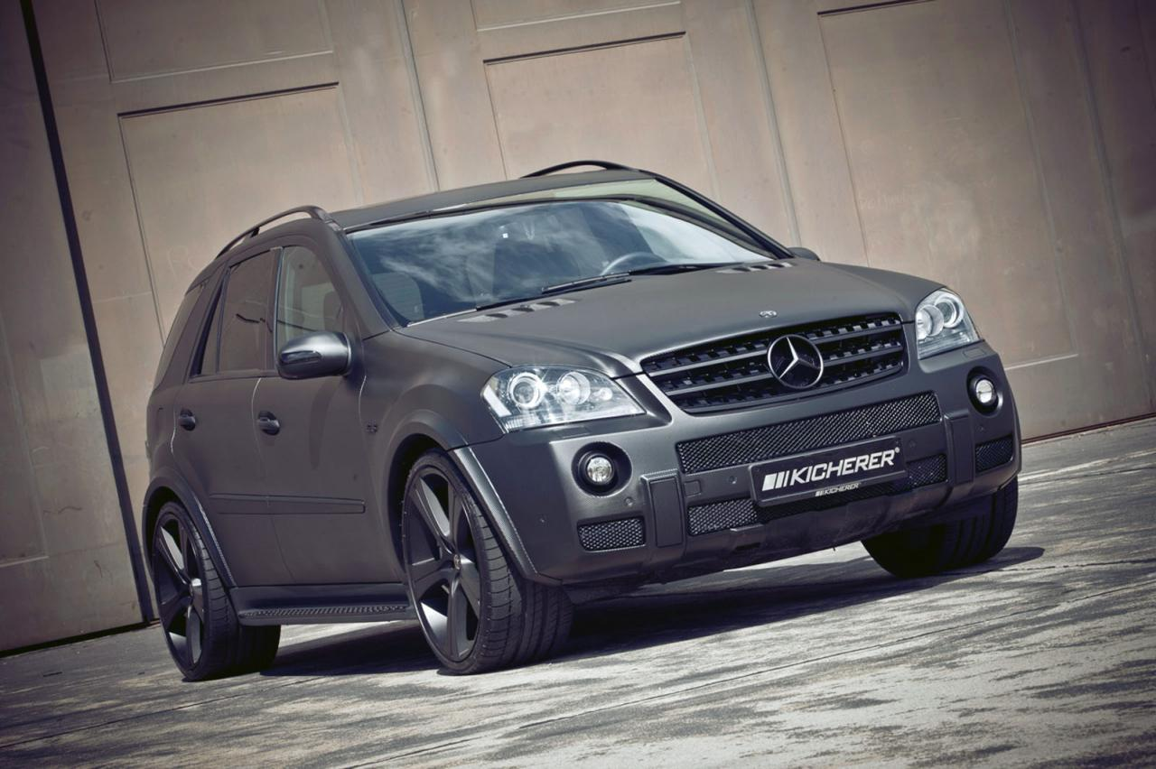 Kicherer mercedes ml63 amg carbon series released for Mercedes benz ml series