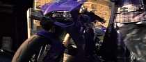Kick-Ass 2 and the Eggplant Purple Livery of the Ducati 1199 Panigale [Video]
