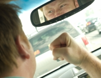 Fathers are more likely to get a road rage attack