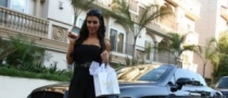 Kim Kardashian's Bentley is Out of the Shop