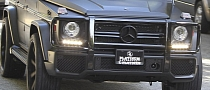 Kim Kardashian's Matte Black G63 AMG at Thanksgiving