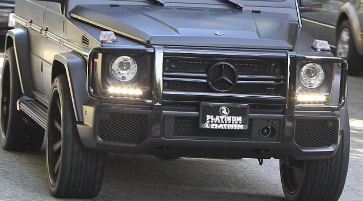 Mercedes G Wagon Matte Black >> Kim Kardashian's Matte Black G63 AMG at Thanksgiving - autoevolution