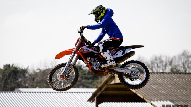 Kimi Raikkonen Is Not Afraid to Jump A Motocross Bike [Photo Gallery]