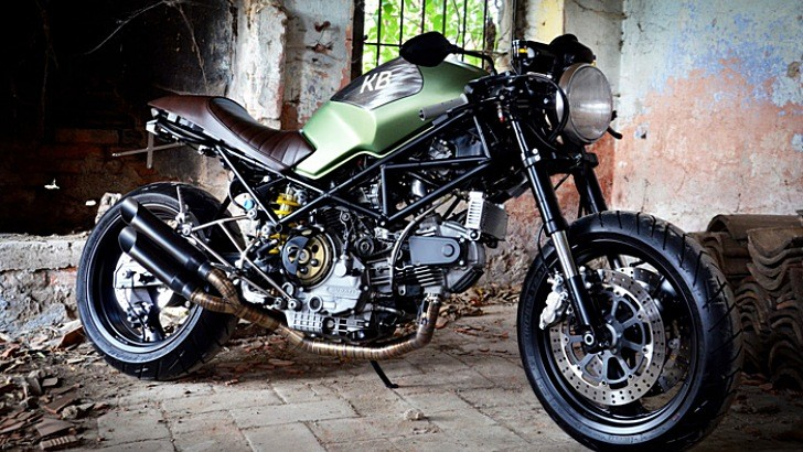 King Bike Ducati, from Rust to Street-Prowling Glory