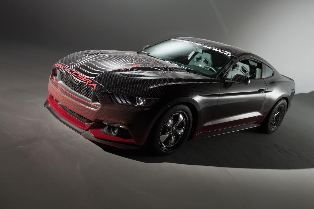 2015 Mustang Cobra >> King Cobra Mustang Is A Venomous Pony Packing 600 Hp Video