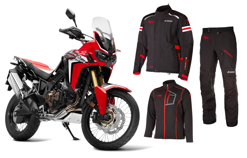 Klim Introduces Honda Africa Twin Adventure Riding Gear