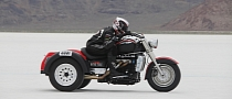 Klock Werks Triumph Rocket III Trike Sets New Land Speed Record
