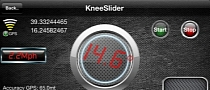 KneeSlider App to See How Much You Lean through the Twisties