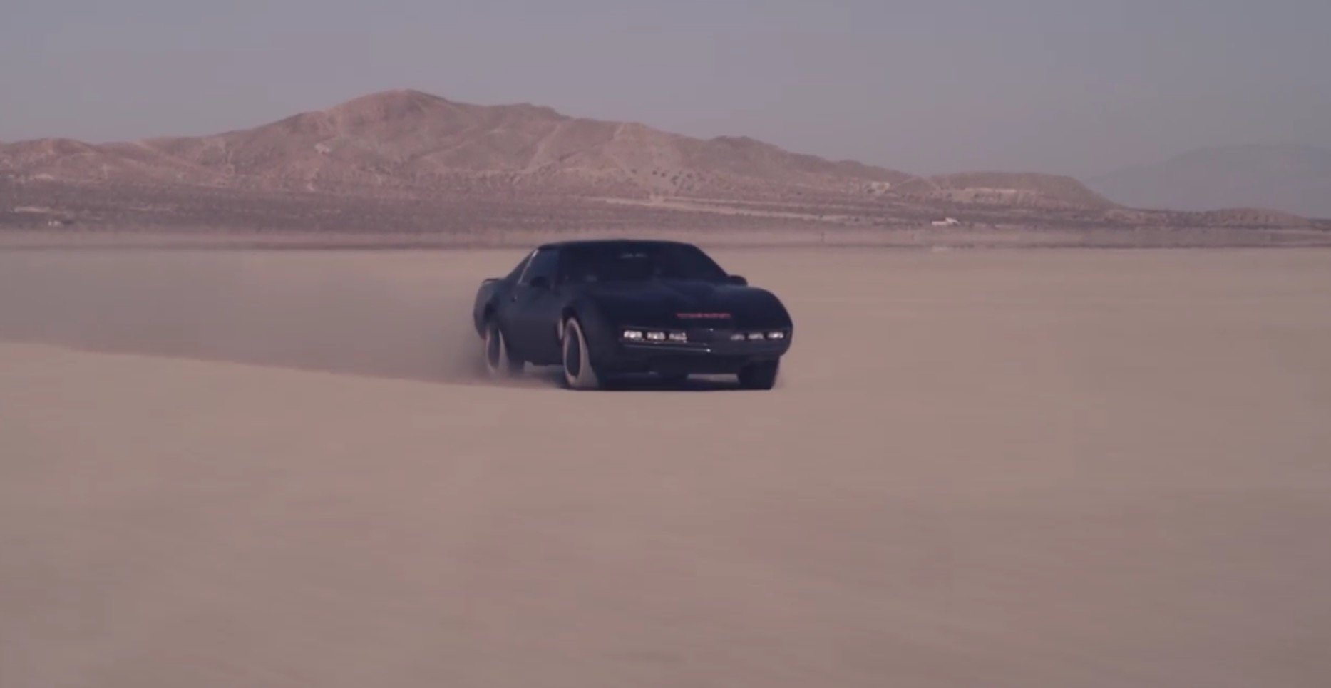 Knight Rider Trailer Suggests Revamp With David Hasselhoff
