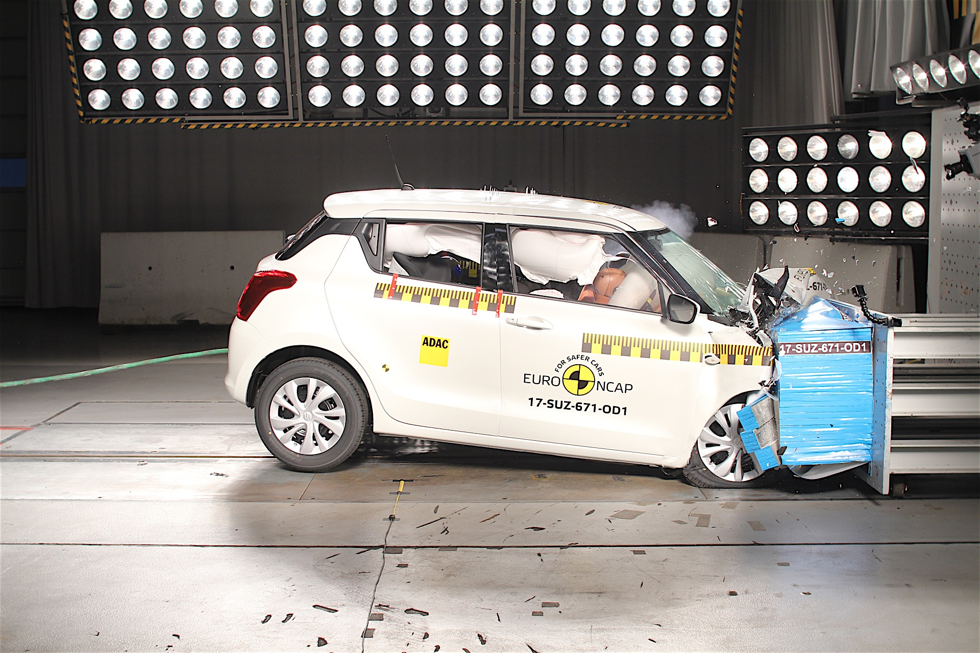 Three Star Safety Rating For 2017 Suzuki Swift